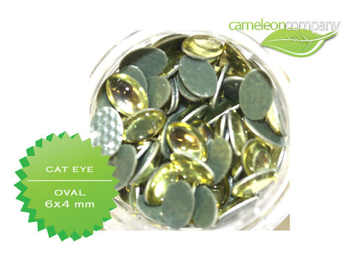 Steinchen Cat Eye Nr 10