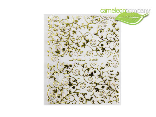 NEU Sticker Gold 49