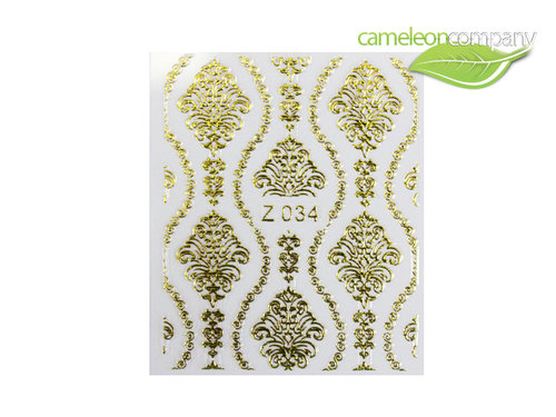 NEU Sticker Gold 34