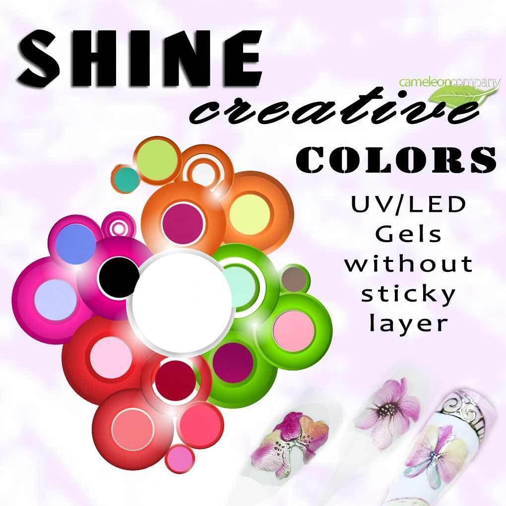 Shine Creative Colors SET - 19 Farben