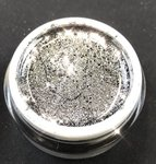5ml Exklusiv Farbgel Glitter Black Night de Lux 669